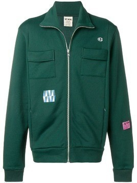 Champion X Wood Wood flap pocket zipped sweatshirt - Green