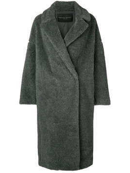 Fabiana Filippi oversized fur coat - Grey