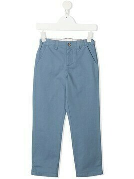 Bonpoint regular chino trousers - Blue