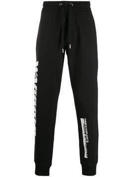 John Richmond Kalenga 'warrior' track pants - Black