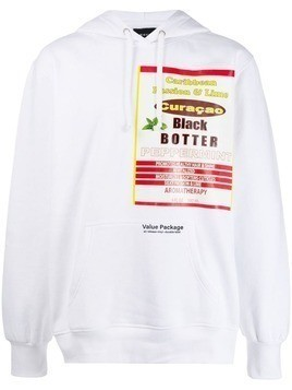 Botter graphic print hoodie - White