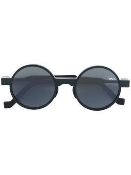 Vava round frame sunglasses - Black
