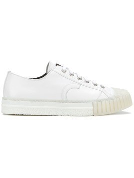 Adieu Paris ridged sole sneakers - White