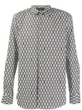 John Richmond razor print shirt - Black