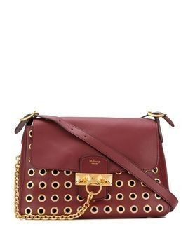 Mulberry Keeley eyelets-embellished shoulder bag - Red