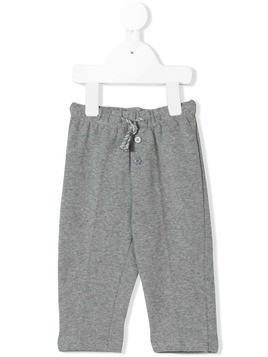 Il Gufo button front track pants - Grey