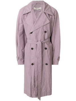 Damir Doma - Clay coat - Herren - Cotton/Linen/Flax - 46 - Pink & Purple