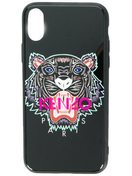 Kenzo tiger iPhone X case - Black