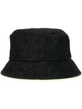 Maison Michel Axel reversible bucket hat - Black