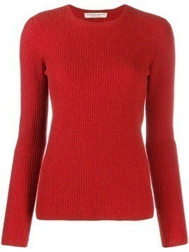 Holland & Holland waffle knit jumper - Red