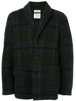 Coohem check tweed jacket - Black