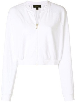 Juicy Couture velour crop jacket - White