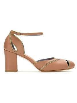 Sarah Chofakian leather sandals - Brown