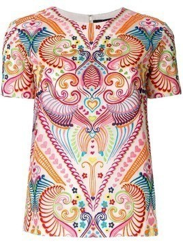 Manish Arora ethnic embroidered top - Multicolour