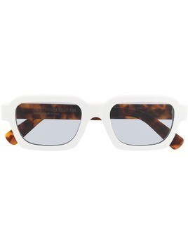 Retrosuperfuture Caro square frame sunglasses - White