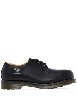 Raf Simons x Dr Martens lace-up Derby shoes - Black