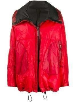 Isaac Sellam Experience oversized zipped padded jacket - Red