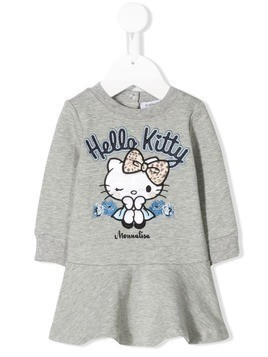 Monnalisa Hello Kitty dress - Grey