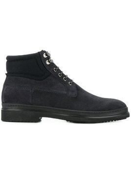 Fabi lace-up boots - Blue