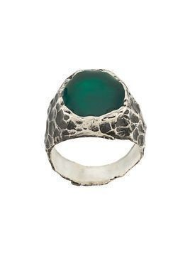 Voodoo Jewels Sigillum resin ring - Silver