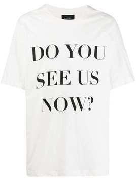 Botter slogan print T-shirt - White