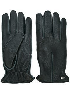 Dolce&Gabbana - Trim Detail Gloves - Men - Deer Skin/Cashmere - 9