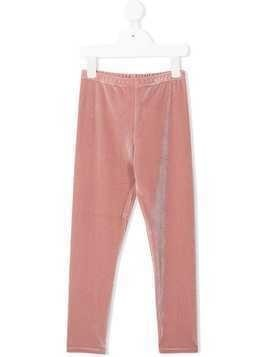 Douuod Kids textured leggings - Pink