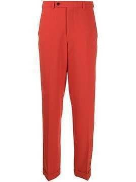Essentiel Antwerp high waisted trousers - Red