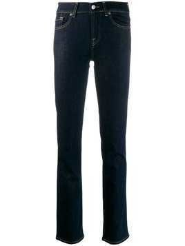 7 For All Mankind high rise slim-fit jeans - Blue