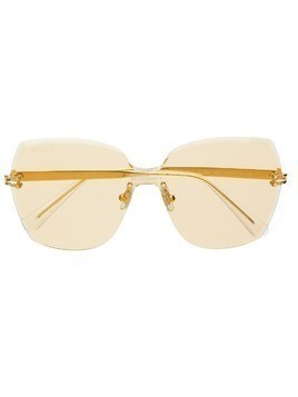 Bolon oversized shaped sunglasses - Gold