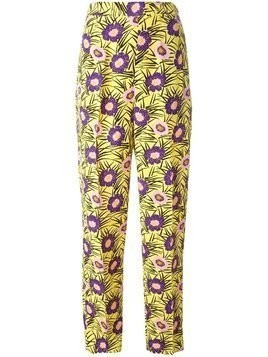 Marni 'Asticon' print trousers - Multicolour
