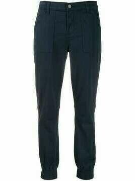 J Brand fitted cuff trousers - Blue
