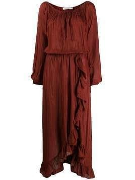 Mes Demoiselles Mercedes maxi dress - Red