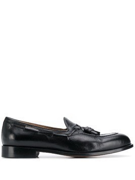 Doucal's tassel loafers - Black