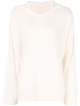 Fine Edge hooded jumper - Neutrals