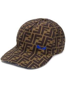 Fendi FF print baseball cap - Brown