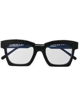 Kuboraum K5 square frame glasses - Black