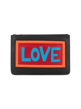 Fendi Love clutch - Black