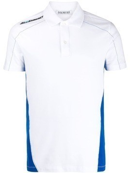 Dirk Bikkembergs classic short-sleeve polo top - White