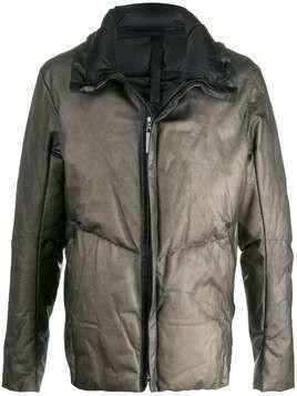 Isaac Sellam Experience padded down jacket - Grey