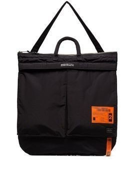 Neighborhood x Porter padded tote bag - Black