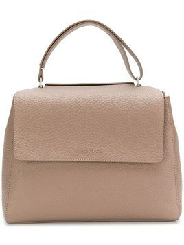 Orciani top handle soft tote - Nude & Neutrals