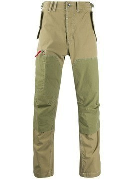 G-Star Raw Research patchwork trousers - Green