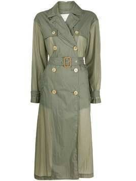 Mackintosh Fintry lightweight trench coat - Green