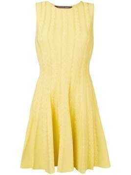 Antonino Valenti flared sleeveless dress - Yellow