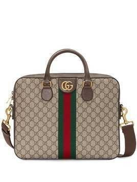 Gucci GG Supreme briefcase - Neutrals