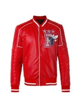 Philipp Plein Sense bomber jacket - Red
