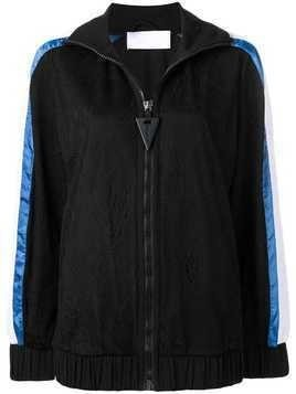 No Ka' Oi zip sport jacket - Black