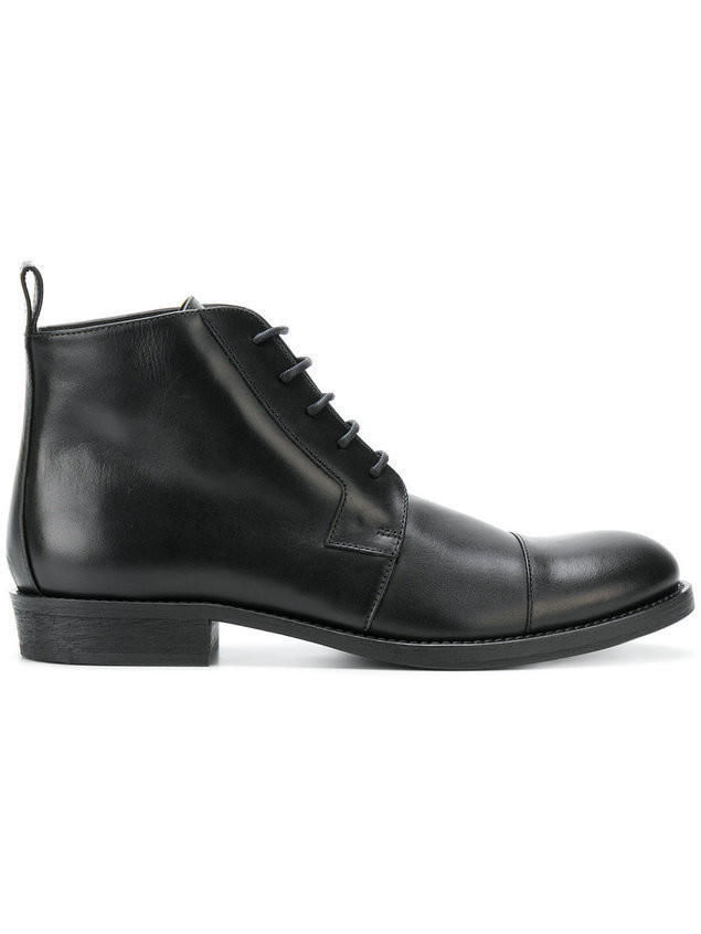 Ann Demeulemeester Blanche lace-up boots - Black