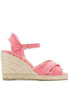 Castañer Bromelia wedge sandals - Pink